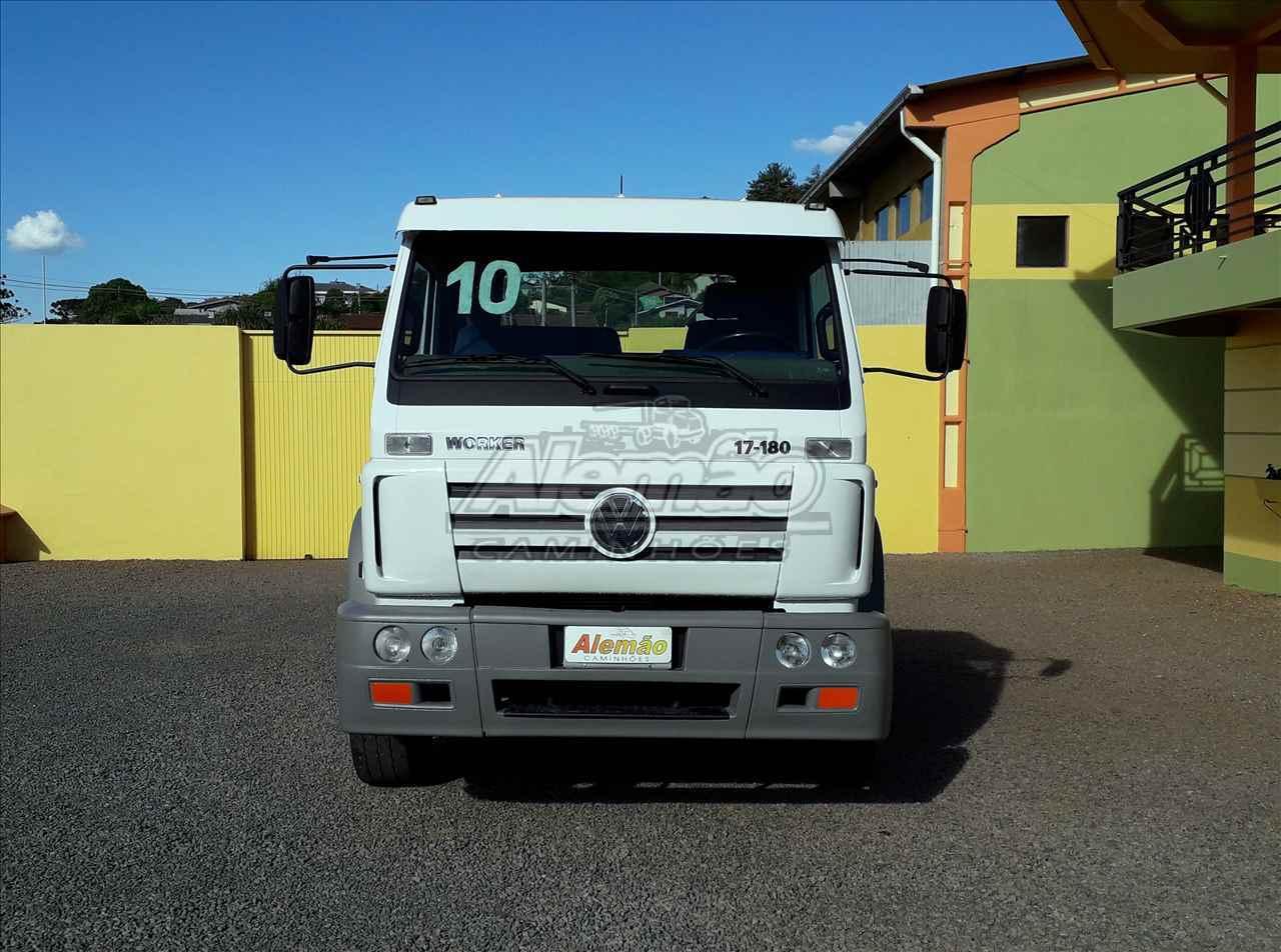 CAMINHAO VOLKSWAGEN VW 17180 Chassis Truck 6x2 Alemão Caminhões GETULIO VARGAS RIO GRANDE DO SUL RS