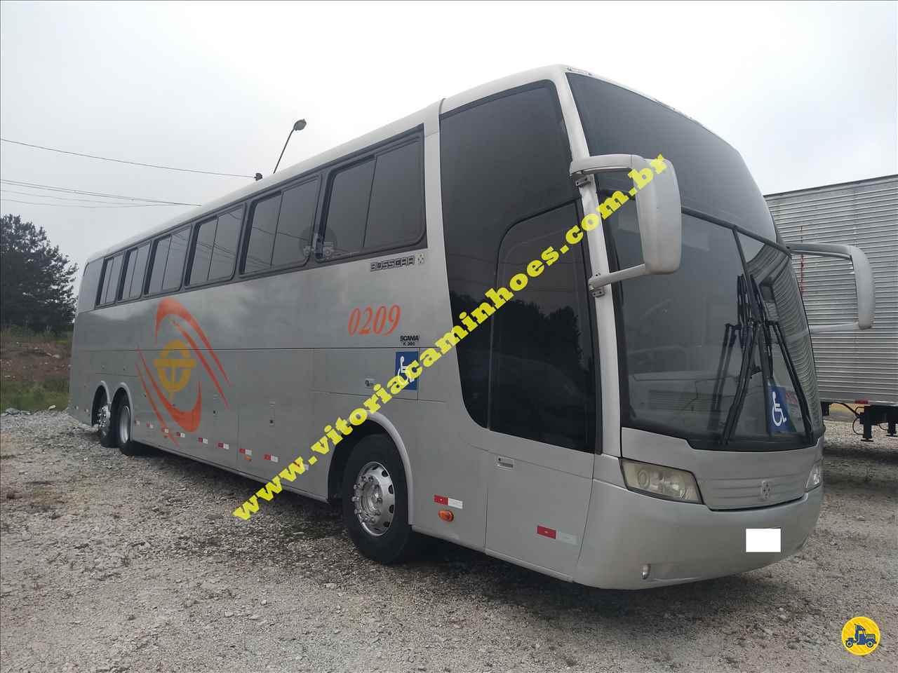ONIBUS BUSSCAR Jum Buss 380 Tração 6x2 Vitória Caminhões CURITIBA PARANÁ PR