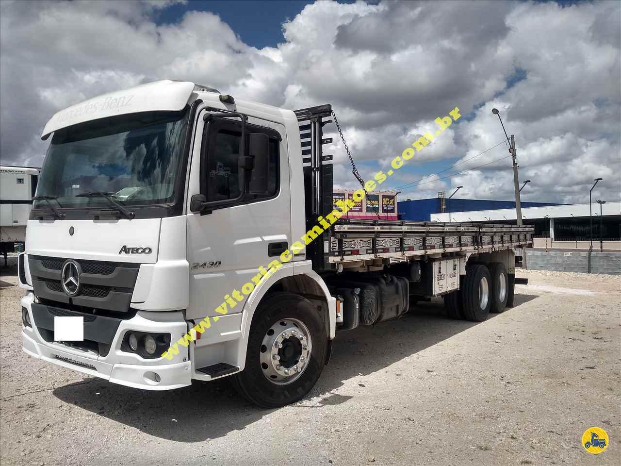 CAMINHAO MERCEDES-BENZ MB 2430 Carga Seca Truck 6x2 Vitória Caminhões CURITIBA PARANÁ PR