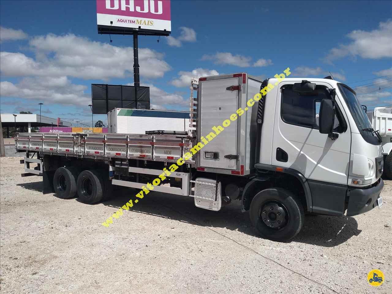 CAMINHAO MERCEDES-BENZ MB 1016 Carga Seca Truck 6x2 Vitória Caminhões CURITIBA PARANÁ PR