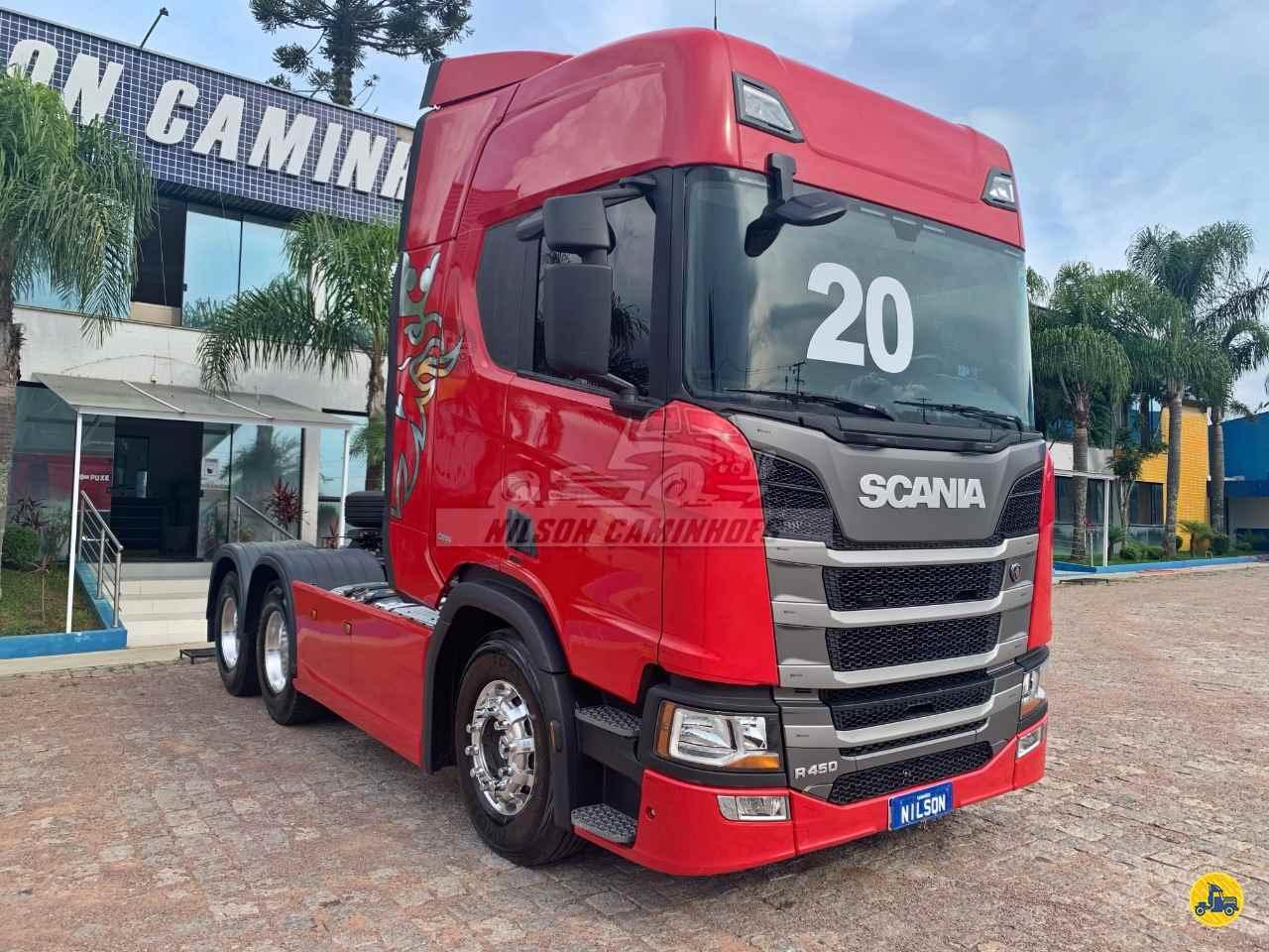 SCANIA SCANIA 450 152000km 2019/2020 Nilson Caminhoes