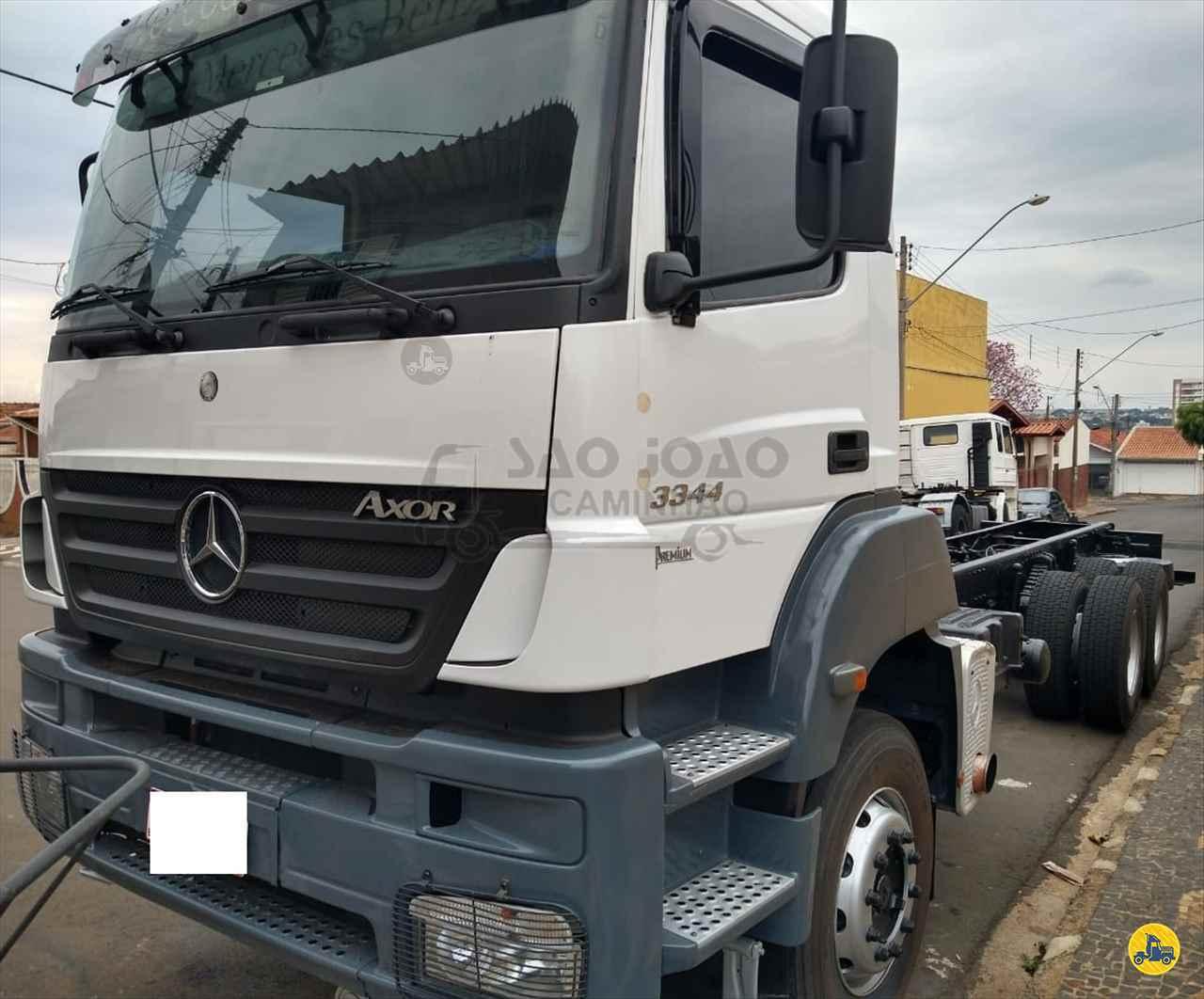 CAMINHAO MERCEDES-BENZ MB 3344 Chassis Traçado 6x4 São João Caminhão SAO JOAO DA BOA VISTA SÃO PAULO SP