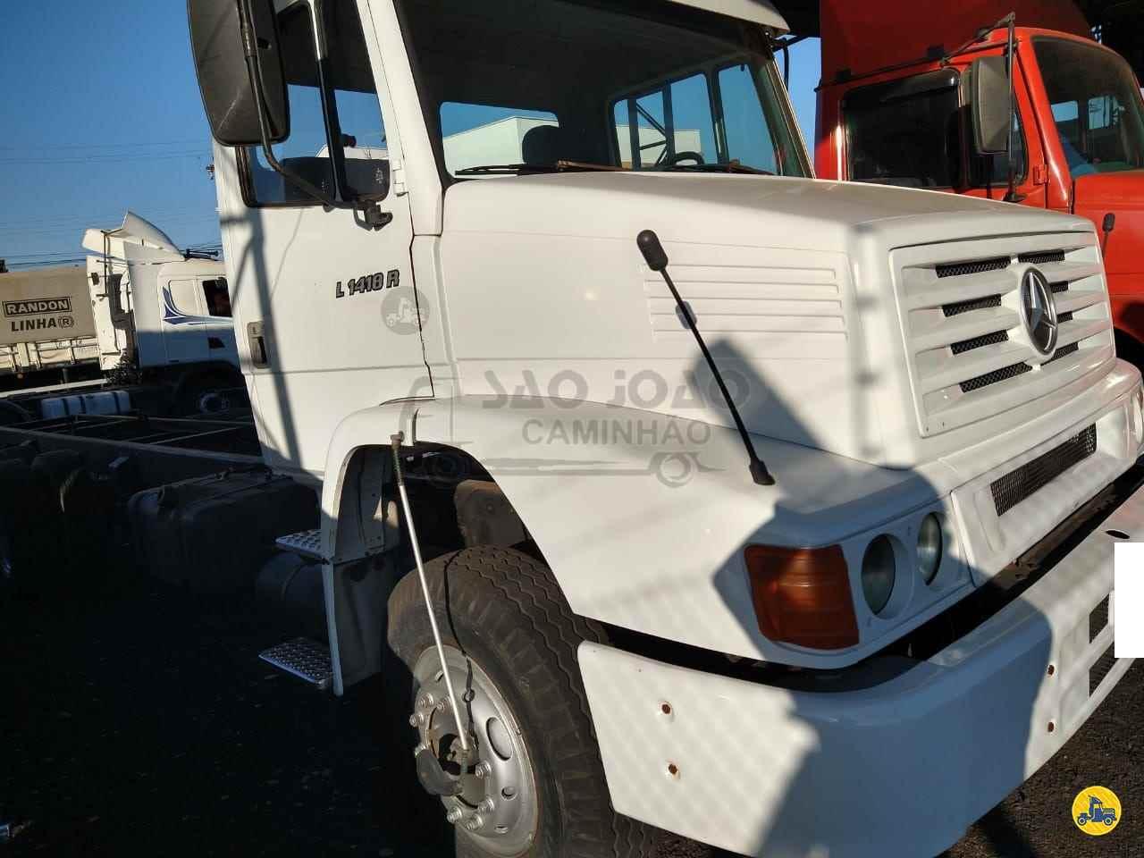 CAMINHAO MERCEDES-BENZ MB 1418 Chassis Truck 6x2 São João Caminhão SAO JOAO DA BOA VISTA SÃO PAULO SP