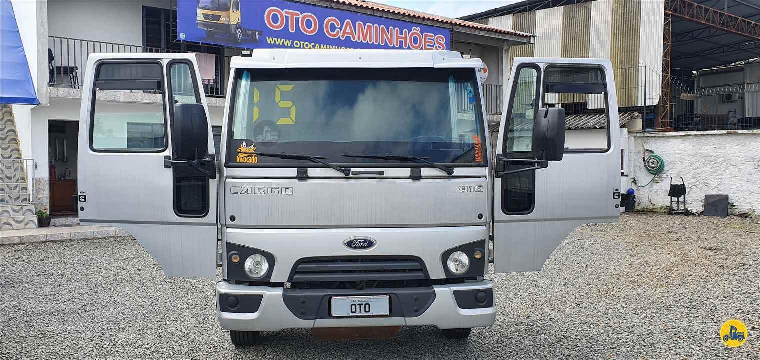CAMINHAO FORD CARGO 816 Chassis 3/4 4x2 Oto Caminhões CURITIBA PARANÁ PR