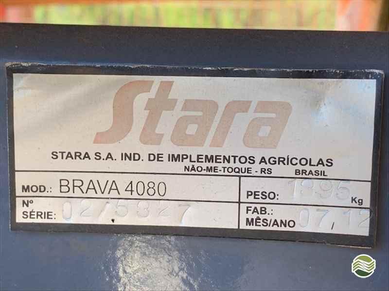 STARA BRAVA 4080  2012/2012 Lago Máquinas e Peças Agrícolas