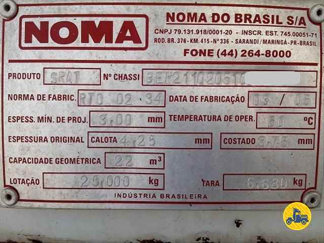 BITREM TANQUE AÇO  2005/2005 TRUCKCISO