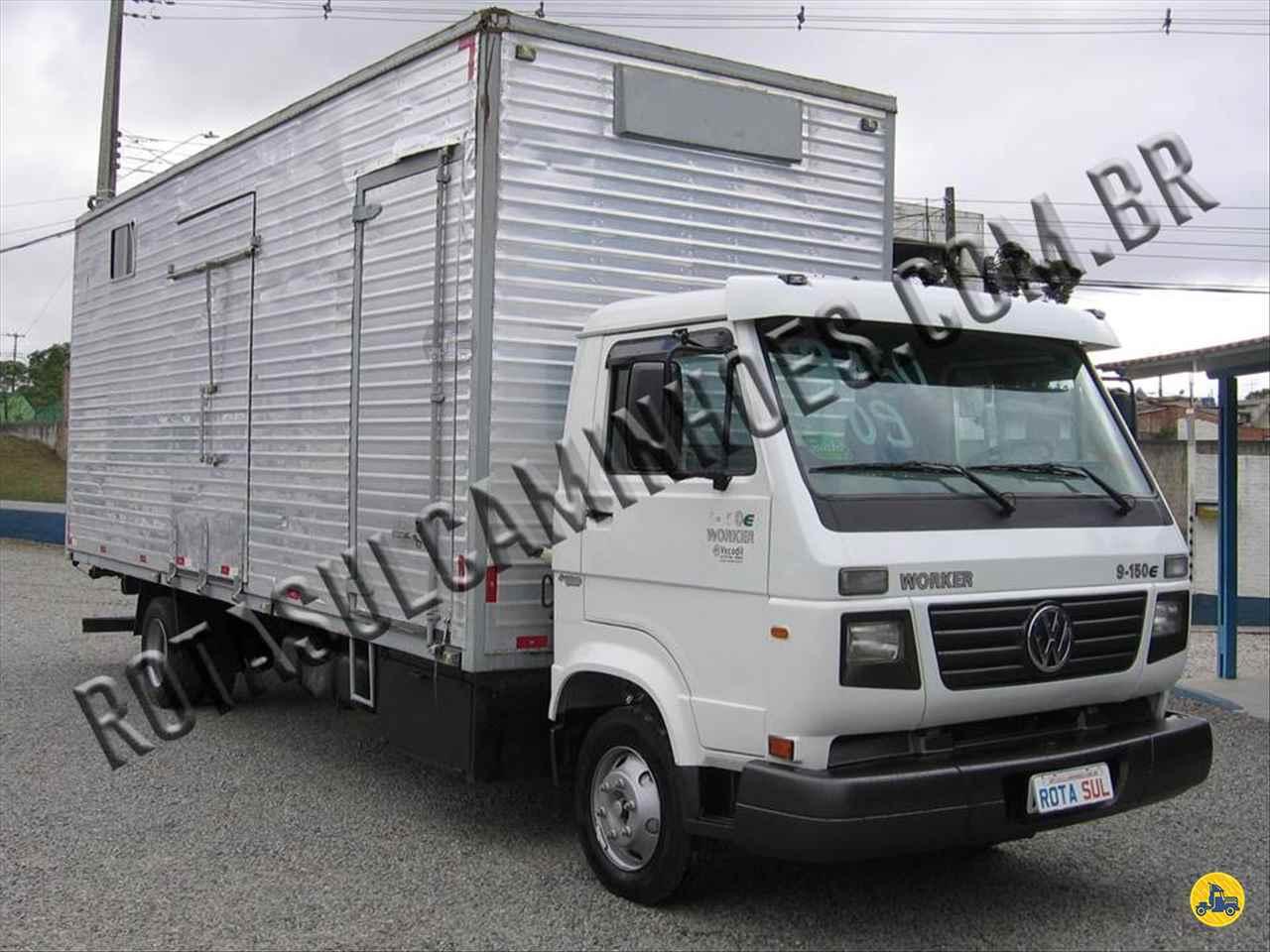 CAMINHAO VOLKSWAGEN VW 9150 Baú Furgão 3/4 4x2 Rota Sul Caminhões CURITIBA PARANÁ PR