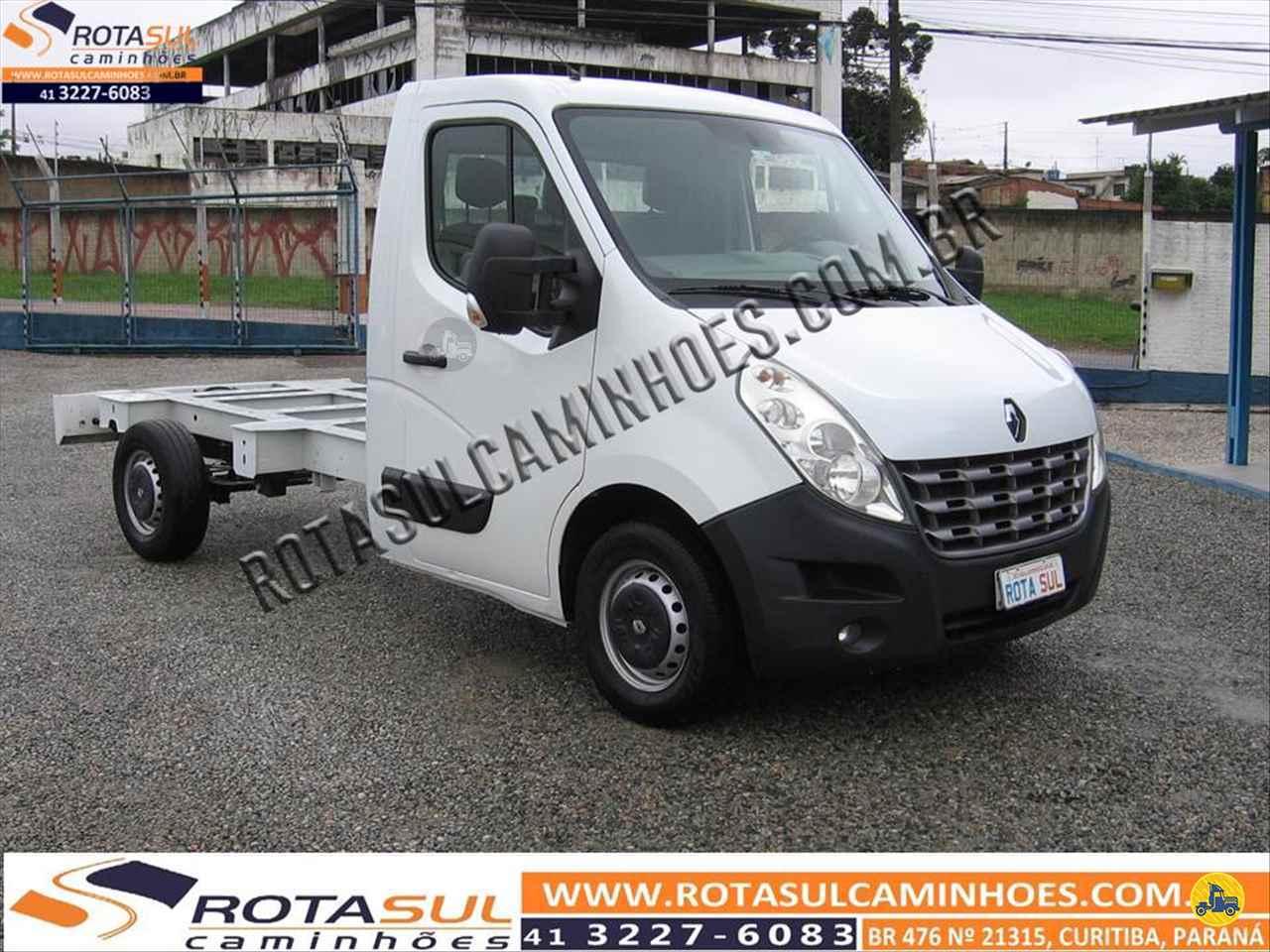 UTILITARIOS RENAULT Master Chassi Cabine 2.3 Rota Sul Caminhões CURITIBA PARANÁ PR