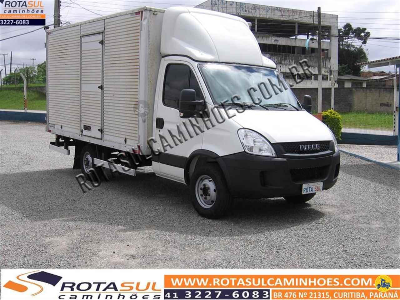 CAMINHAO IVECO DAILY 35s14 Baú Furgão 3/4 4x2 Rota Sul Caminhões CURITIBA PARANÁ PR