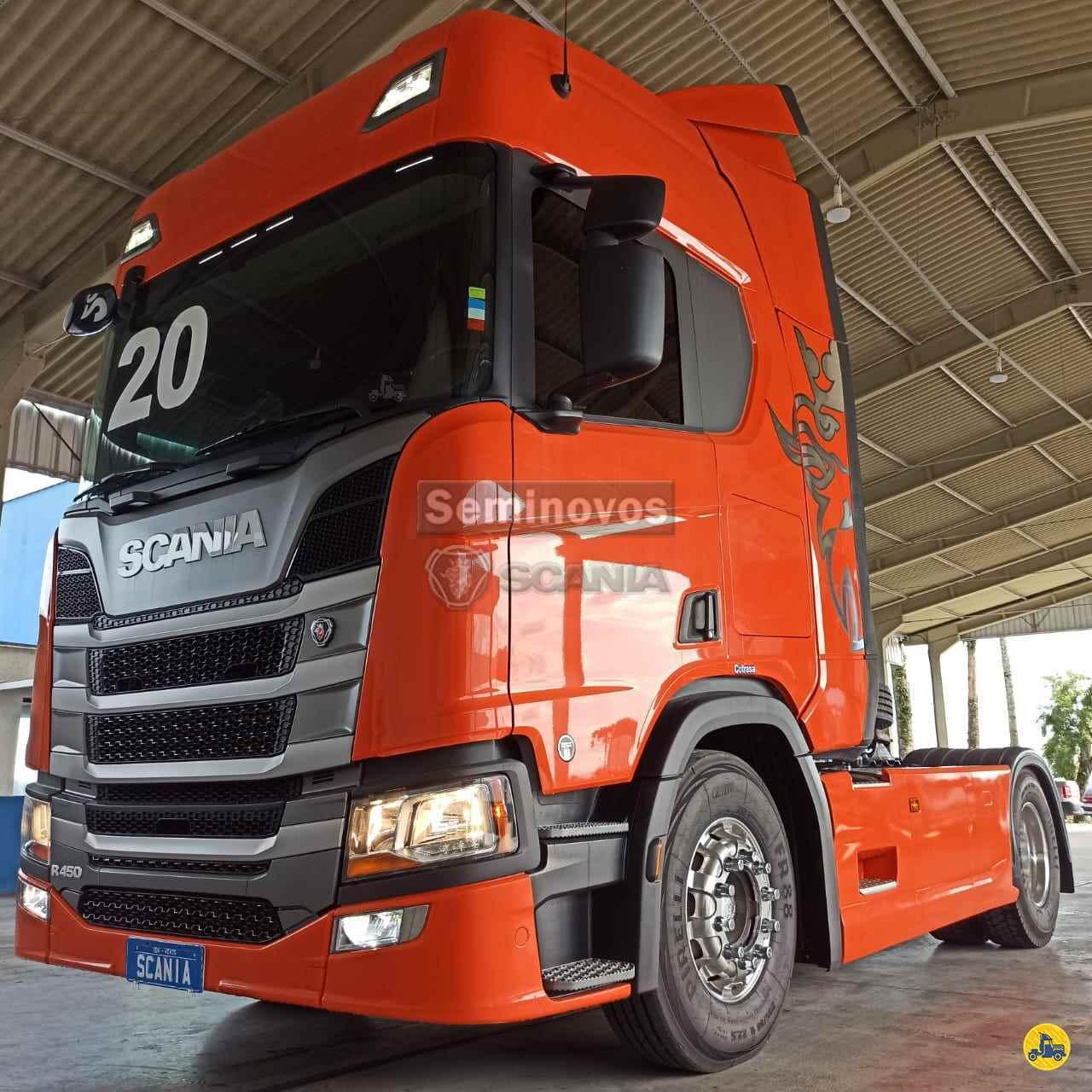CAMINHAO SCANIA SCANIA 450 Cavalo Mecânico Toco 4x2 Scania Seminovos SAO JOSE DOS PINHAIS PARANÁ PR