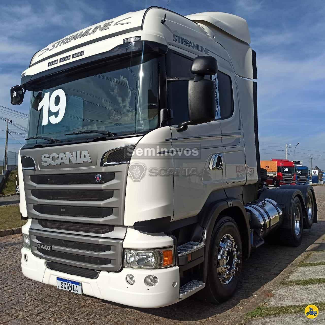 CAMINHAO SCANIA SCANIA 440 Cavalo Mecânico Truck 6x2 Scania Seminovos SAO JOSE DOS PINHAIS PARANÁ PR