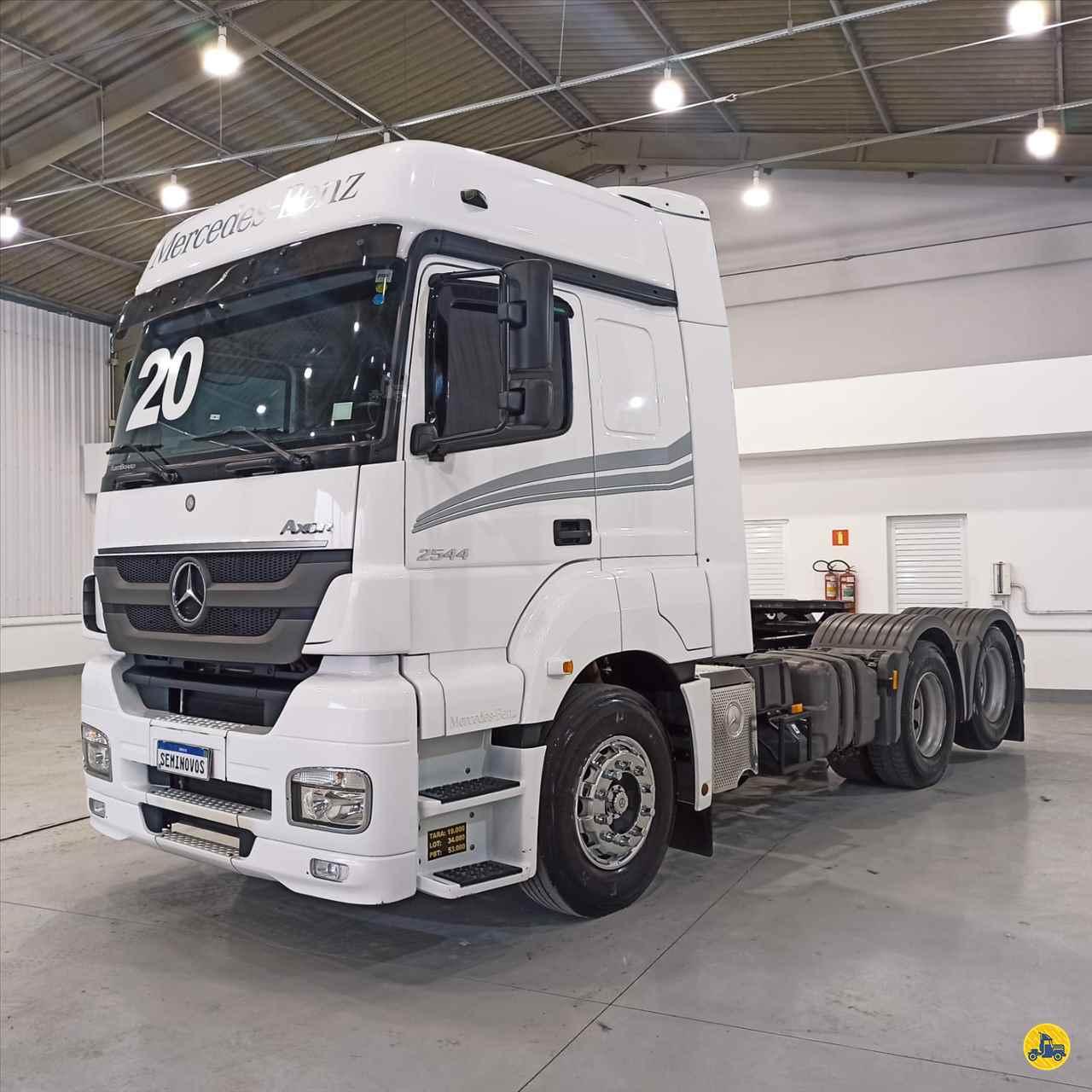 CAMINHAO MERCEDES-BENZ MB 2544 Cavalo Mecânico Truck 6x2 Scania Seminovos SAO JOSE DOS PINHAIS PARANÁ PR