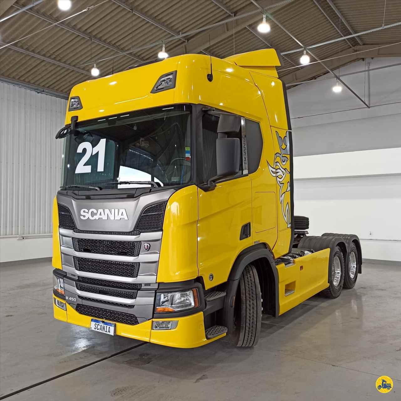 CAMINHAO SCANIA SCANIA 450 Cavalo Mecânico Truck 6x2 Scania Seminovos SAO JOSE DOS PINHAIS PARANÁ PR