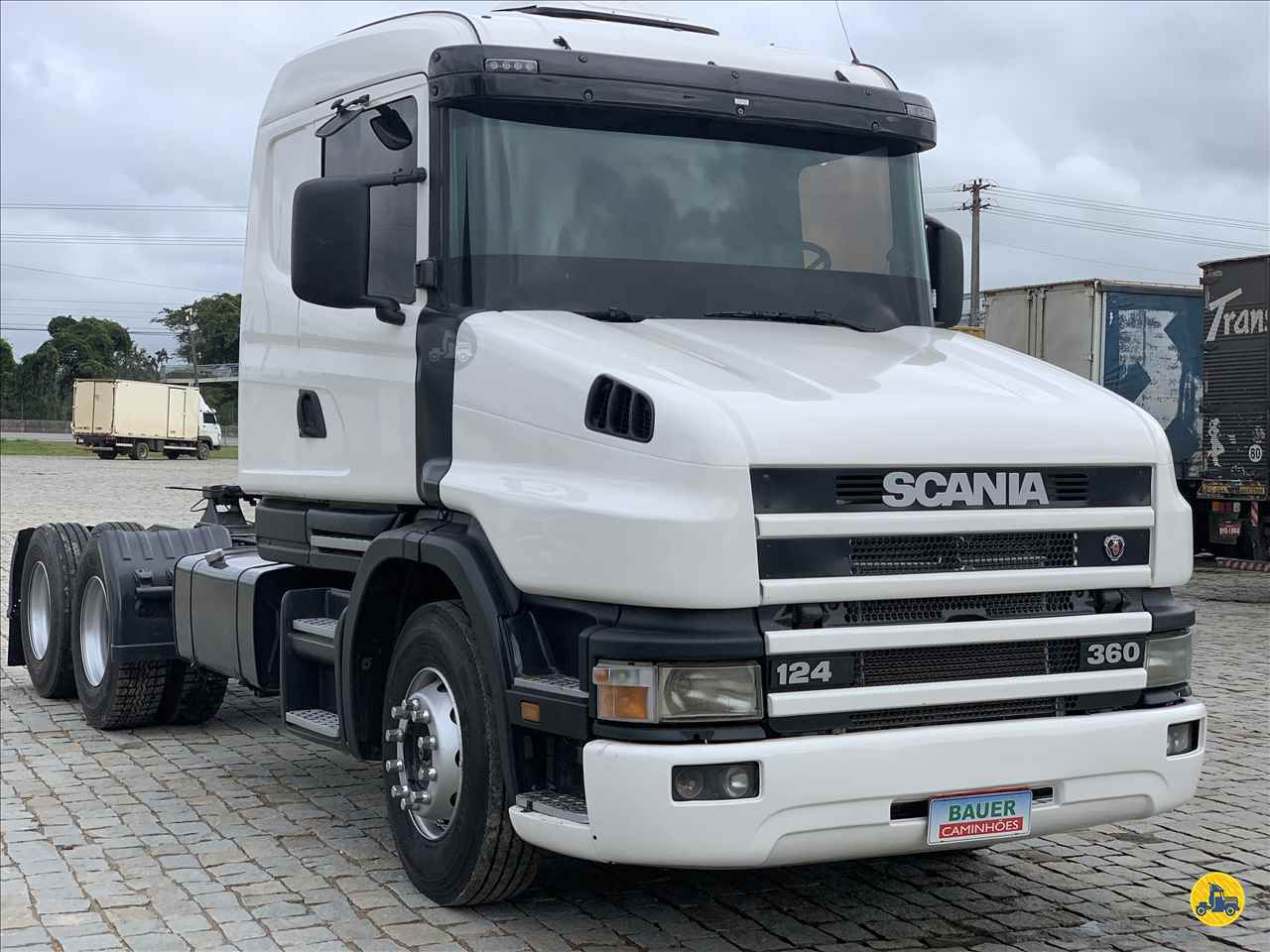 SCANIA SCANIA 124 360  2001/2002 Bauer Caminhões
