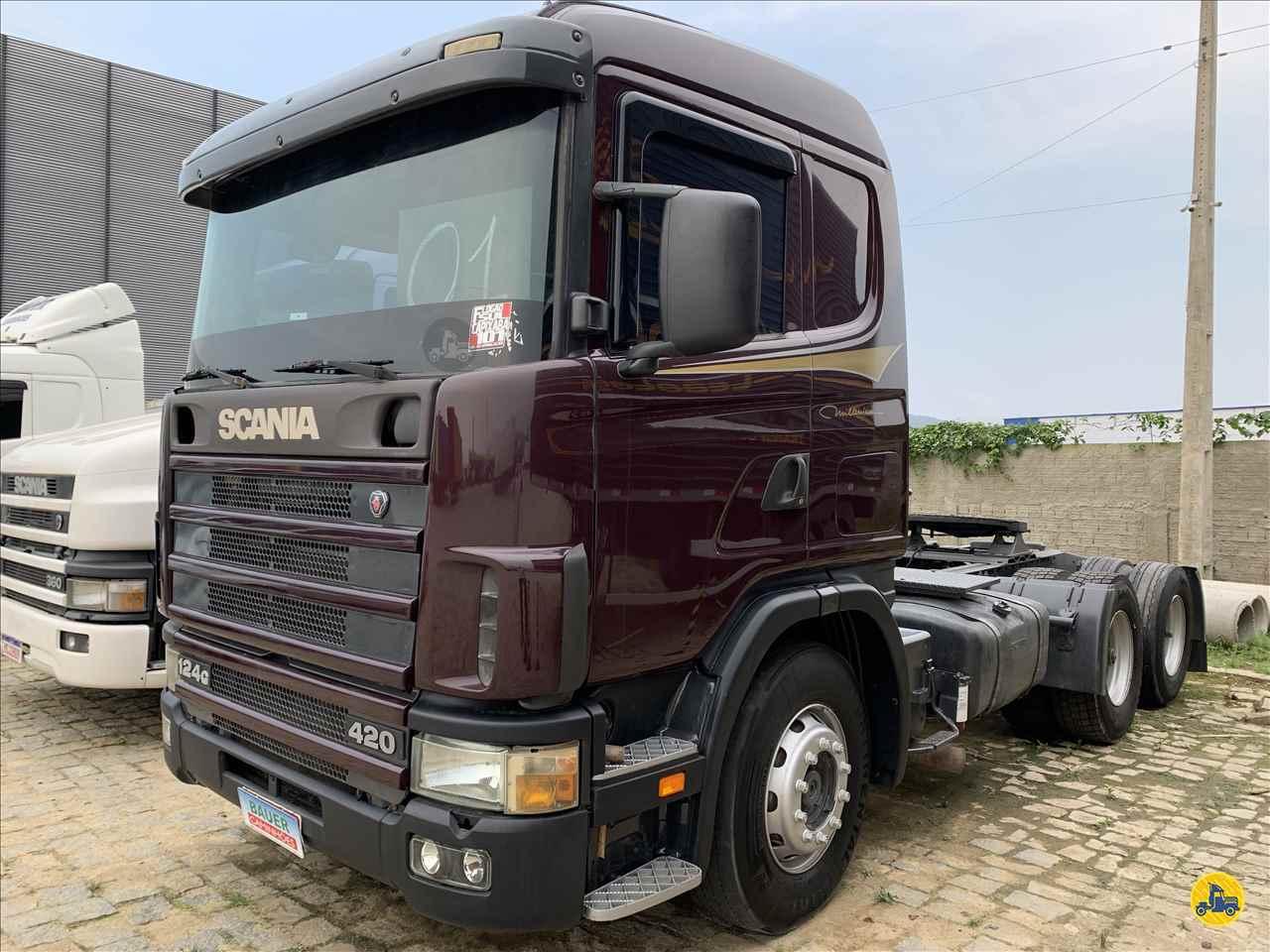 SCANIA SCANIA 124 420  2000/2001 Bauer Caminhões