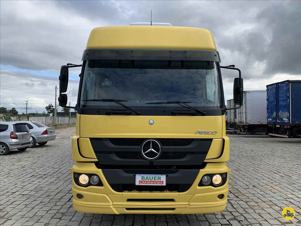 CAMINHAO MERCEDES-BENZ MB 2430 Baú Térmico Truck 6x2 Bauer Caminhões ITAJAI SANTA CATARINA SC