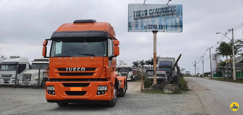 CAMINHAO IVECO STRALIS 420 Cavalo Mecânico Truck 6x2 Trevo Caminhões - AGB ITAJAI SANTA CATARINA SC