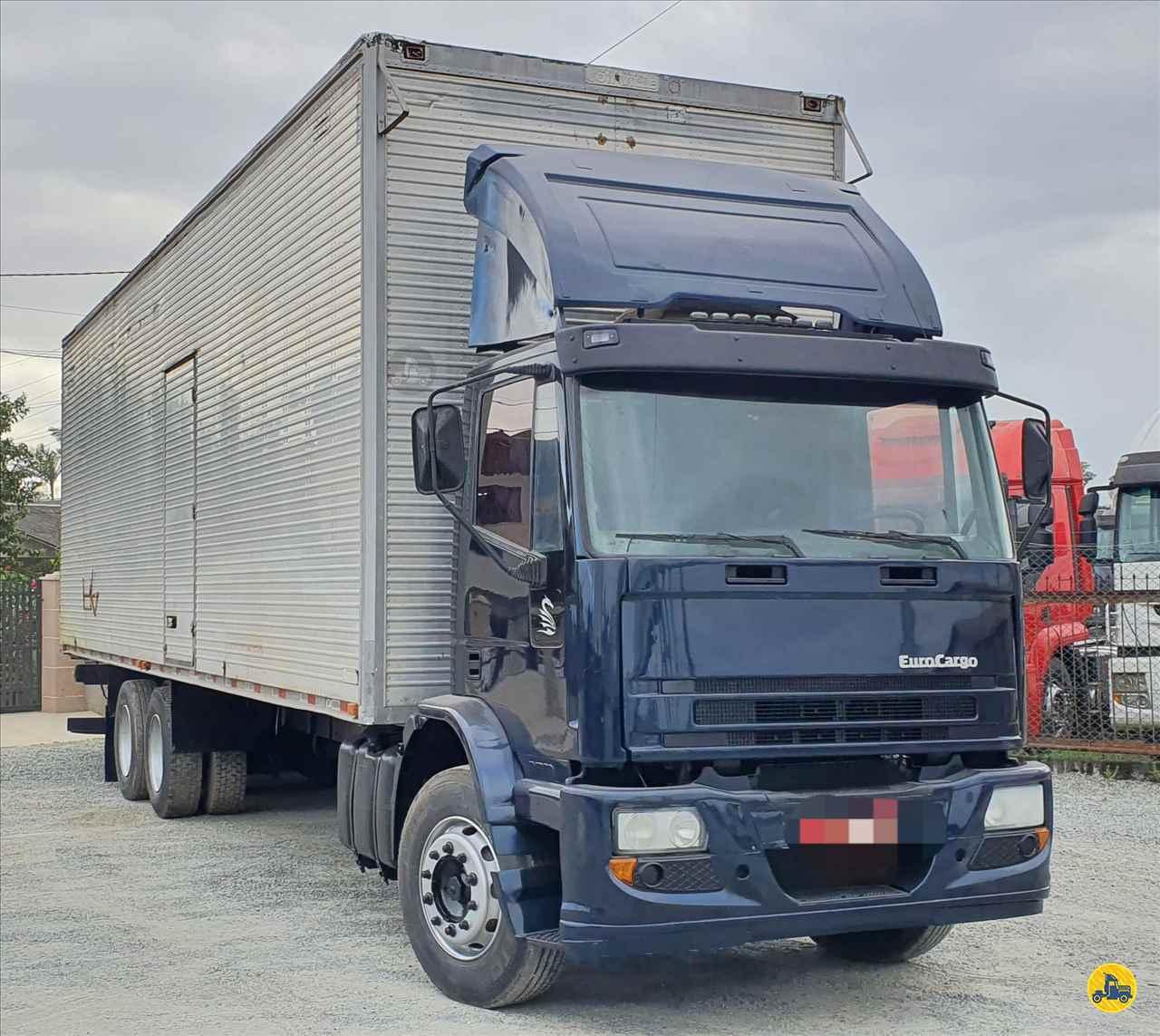 CAMINHAO IVECO TECTOR 170E21 Baú Furgão Truck 6x2 Trevo Caminhões - AGB ITAJAI SANTA CATARINA SC