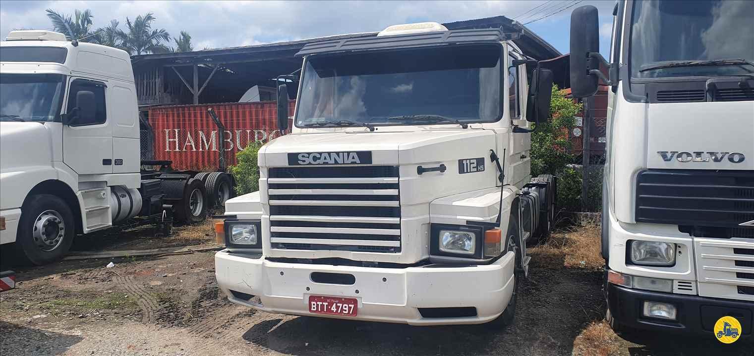 CAMINHAO SCANIA SCANIA 112 360 Cavalo Mecânico Truck 6x2 Trevo Caminhões - AGB ITAJAI SANTA CATARINA SC