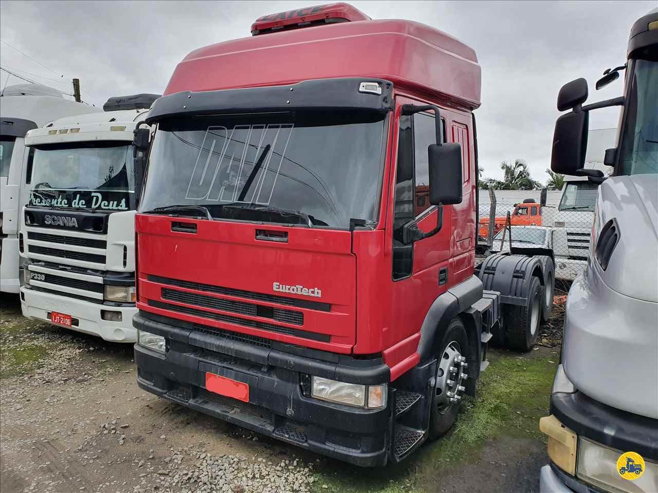 CAMINHAO IVECO EUROTECH 450E37 Cavalo Mecânico Truck 6x2 Trevo Caminhões - AGB ITAJAI SANTA CATARINA SC