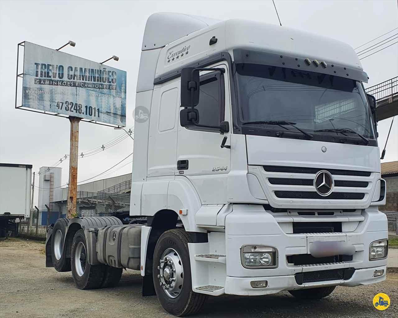 CAMINHAO MERCEDES-BENZ MB 2544 Cavalo Mecânico Truck 6x2 Trevo Caminhões - AGB ITAJAI SANTA CATARINA SC