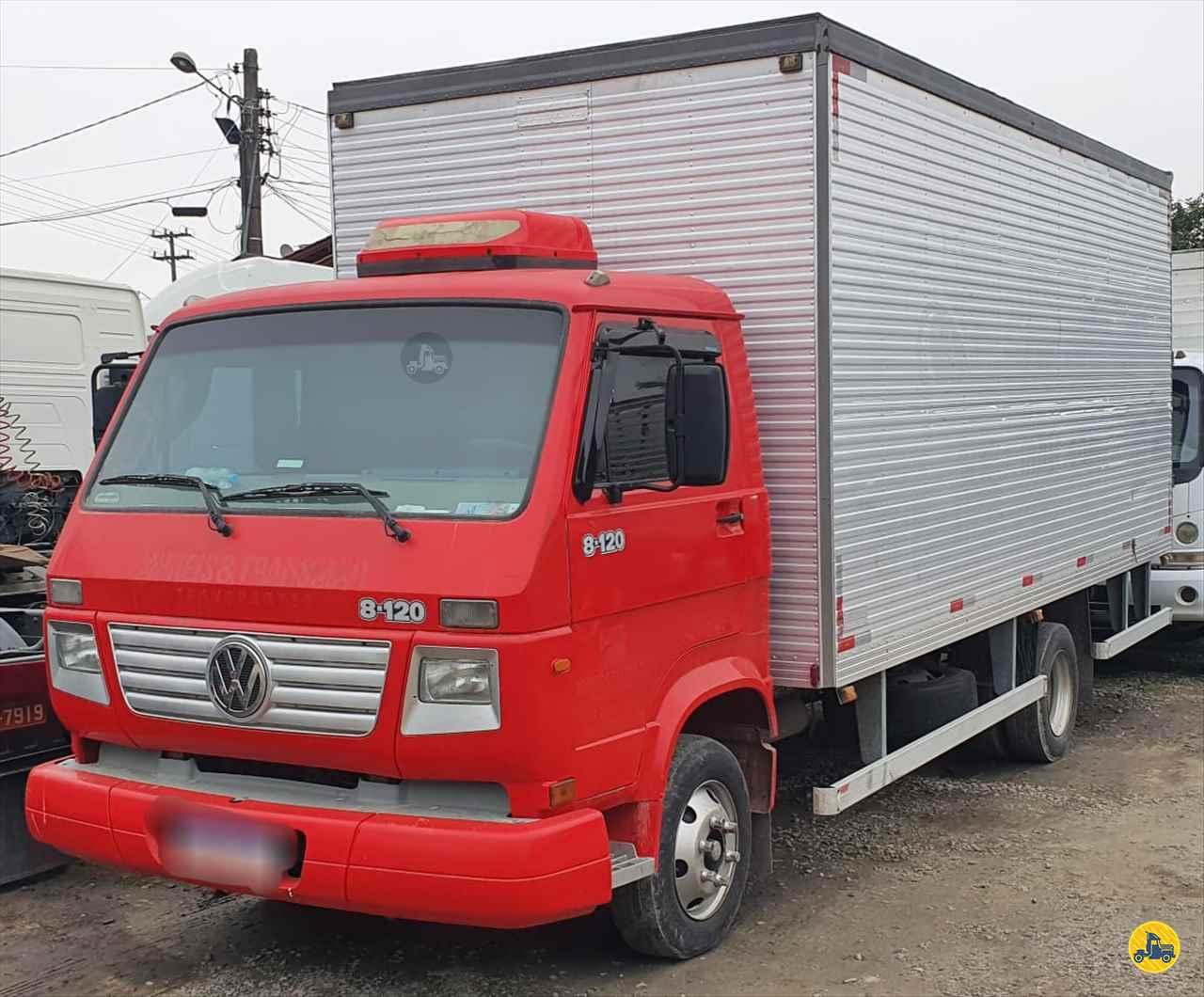 CAMINHAO VOLKSWAGEN VW 8120 Baú Furgão 3/4 4x2 Trevo Caminhões - AGB ITAJAI SANTA CATARINA SC