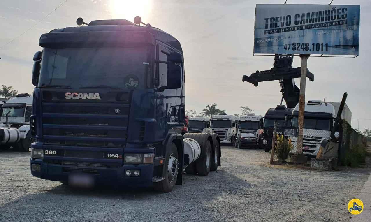 SCANIA 124 360 de Trevo Caminhões - AGB - ITAJAI/SC