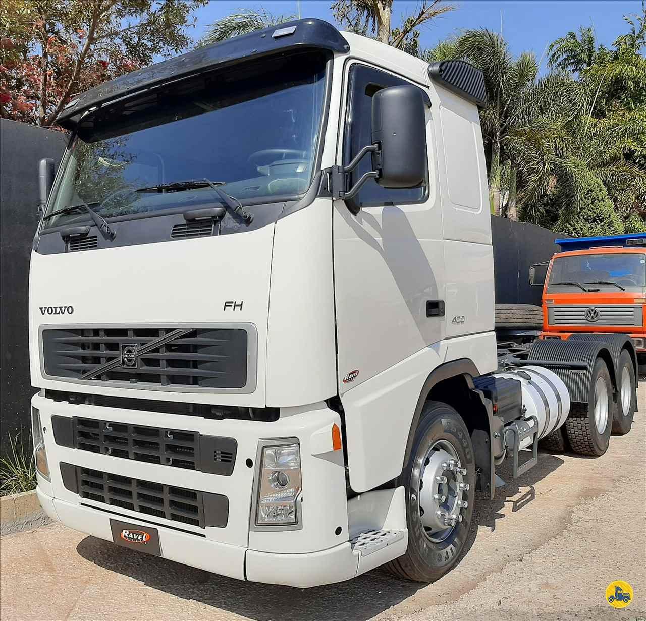 CAMINHAO VOLVO VOLVO FH 400 Cavalo Mecânico Truck 6x2 Ravel Trucks CRAVINHOS SÃO PAULO SP