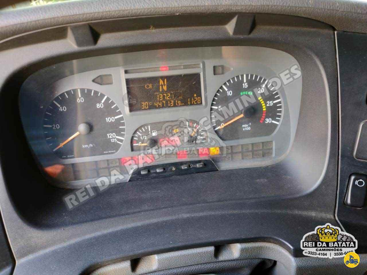 MERCEDES-BENZ MB 1315 447000km 2008/2008 Rei da Batata Caminhões