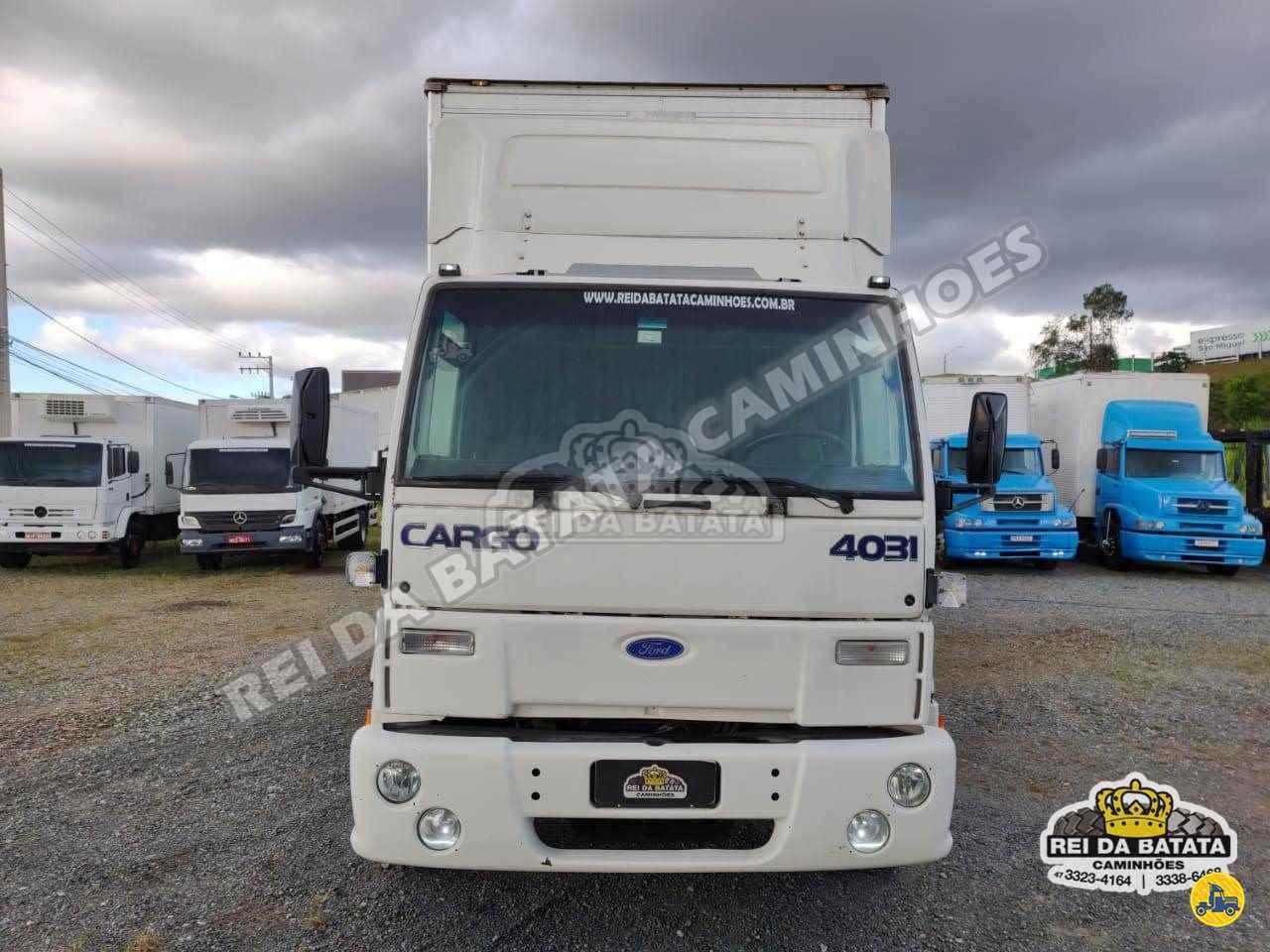 FORD CARGO 4031 1020000km 2005/2005 Rei da Batata Caminhões