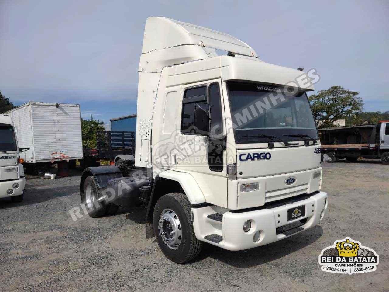 CAMINHAO FORD CARGO 4331 Cavalo Mecânico Toco 4x2 Rei da Batata Caminhões BLUMENAU SANTA CATARINA SC