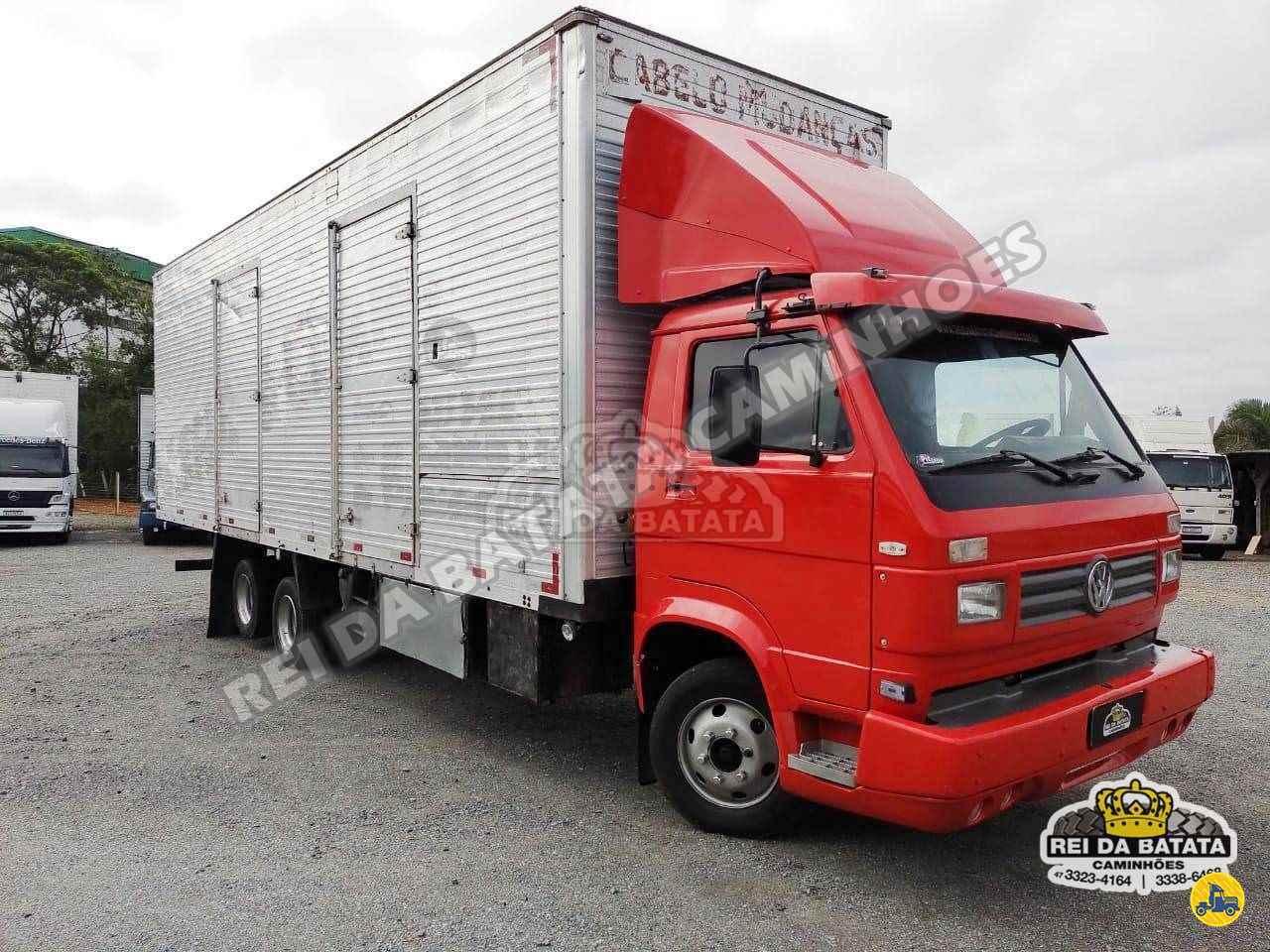 CAMINHAO VOLKSWAGEN VW 8140 Baú Furgão 3/4 6x2 Rei da Batata Caminhões BLUMENAU SANTA CATARINA SC