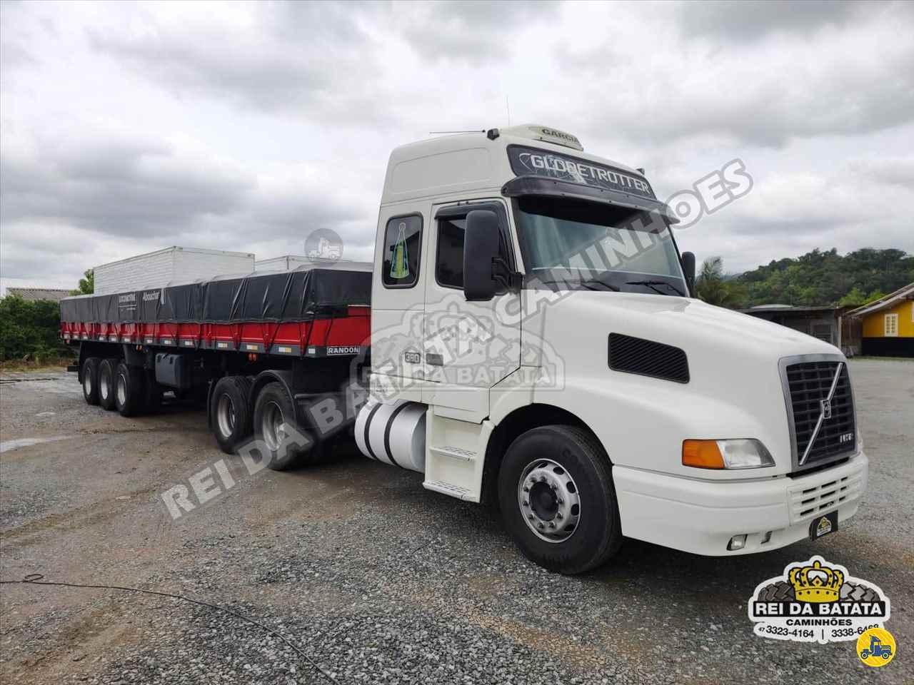 CAMINHAO VOLVO VOLVO NH12 380 Carga Seca Truck 6x2 Rei da Batata Caminhões BLUMENAU SANTA CATARINA SC