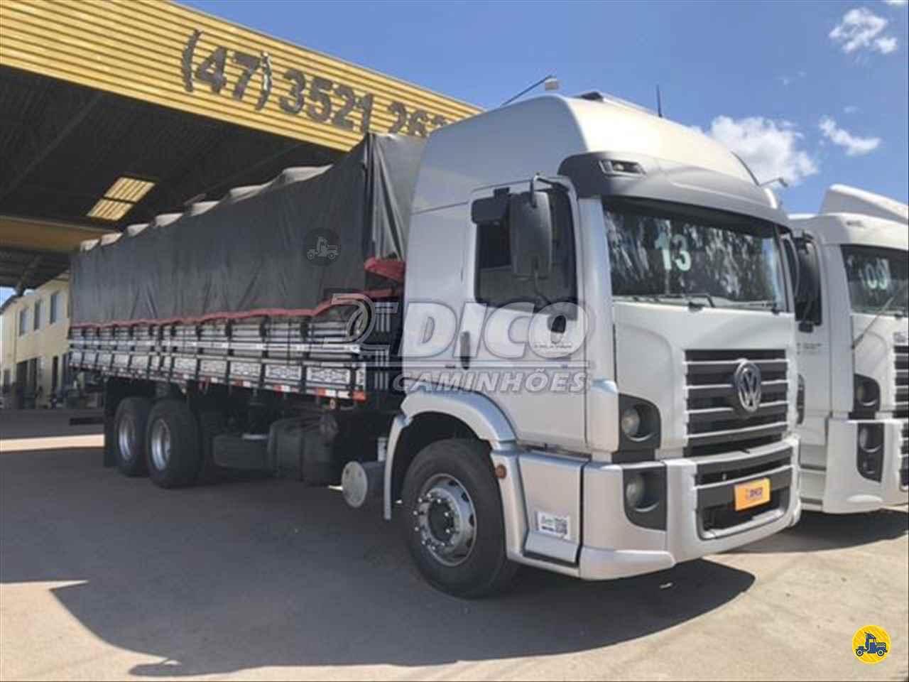 CAMINHAO VOLKSWAGEN VW 24280 Graneleiro Truck 6x2 Dico Caminhões RIO DO SUL SANTA CATARINA SC
