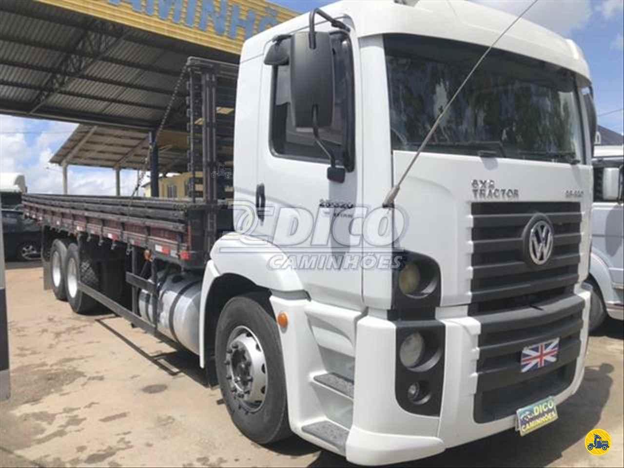 CAMINHAO VOLKSWAGEN VW 25320 Carga Seca Truck 6x2 Dico Caminhões RIO DO SUL SANTA CATARINA SC