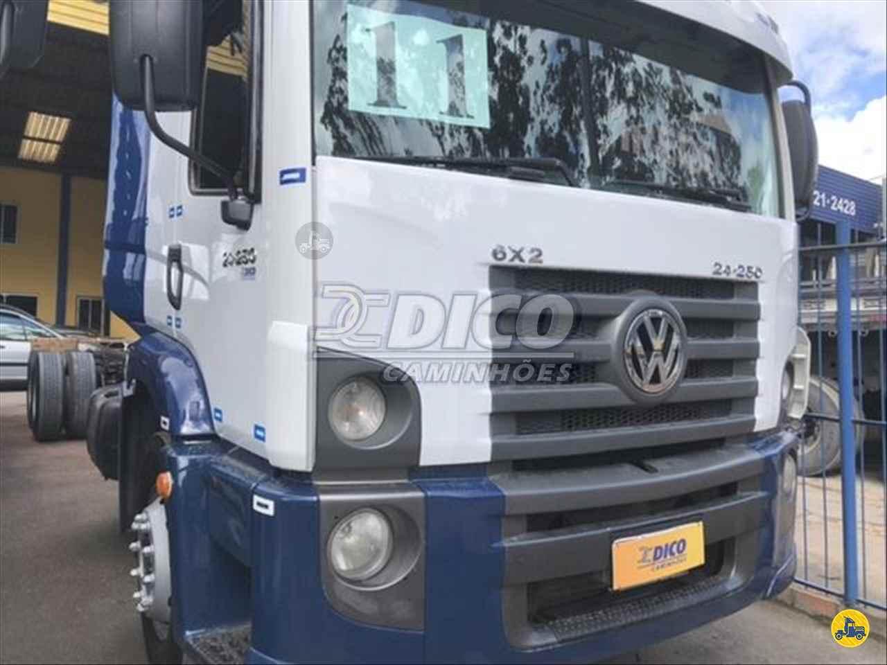 CAMINHAO VOLKSWAGEN VW 24250 Chassis Truck 6x2 Dico Caminhões RIO DO SUL SANTA CATARINA SC
