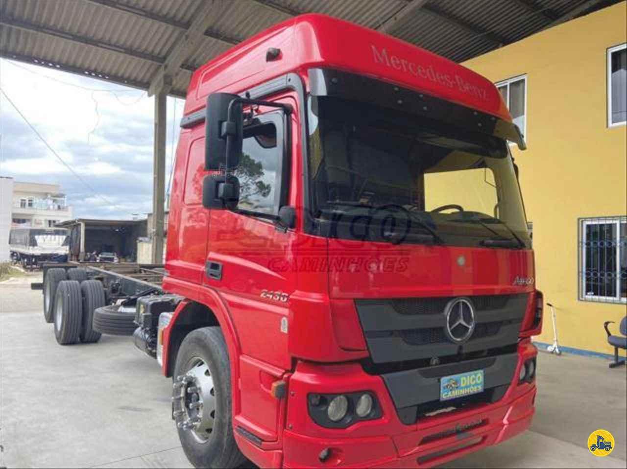 CAMINHAO MERCEDES-BENZ MB 2430 Chassis Truck 6x2 Dico Caminhões RIO DO SUL SANTA CATARINA SC