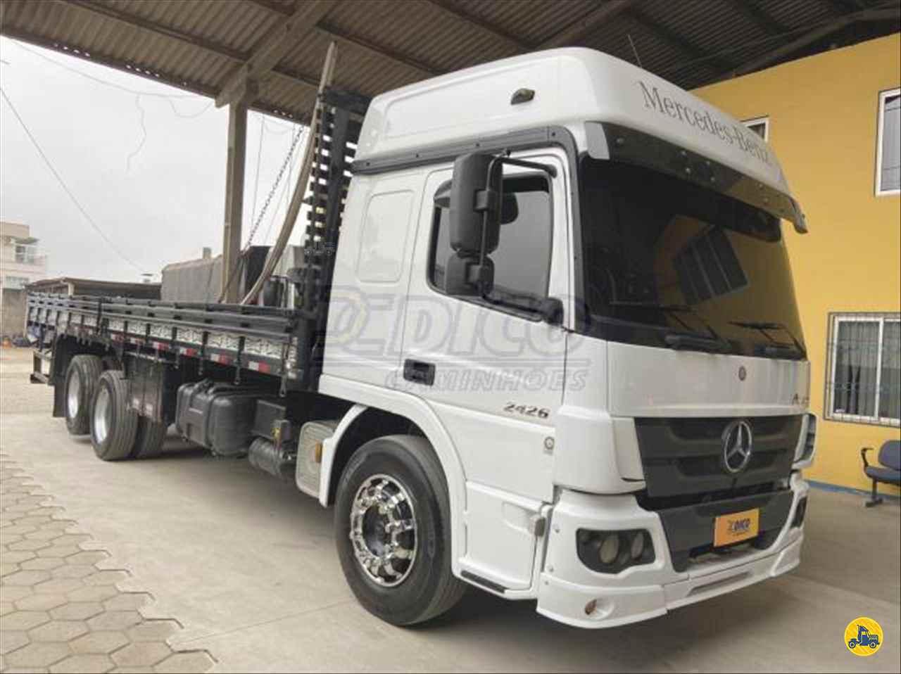 CAMINHAO MERCEDES-BENZ MB 2426 Carga Seca Truck 6x2 Dico Caminhões RIO DO SUL SANTA CATARINA SC