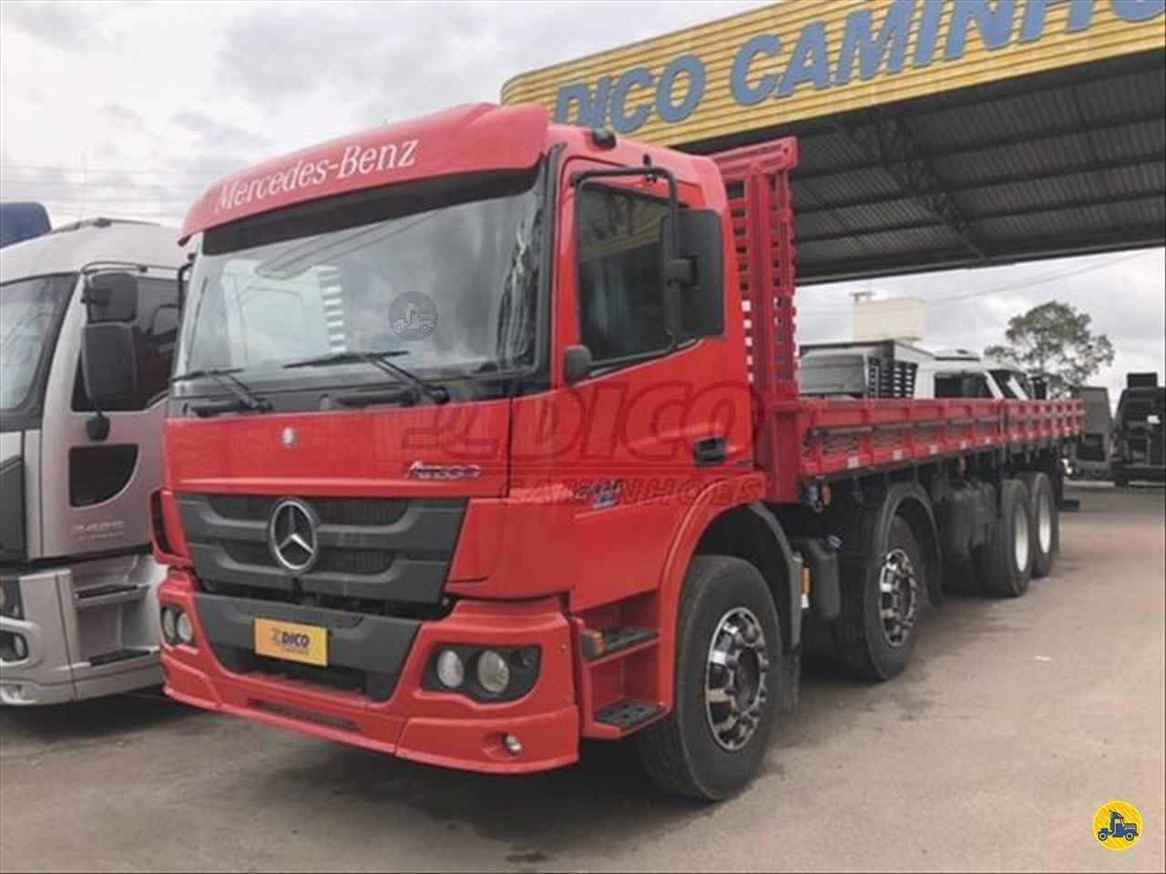 CAMINHAO MERCEDES-BENZ MB 2430 Carga Seca BiTruck 8x2 Dico Caminhões RIO DO SUL SANTA CATARINA SC