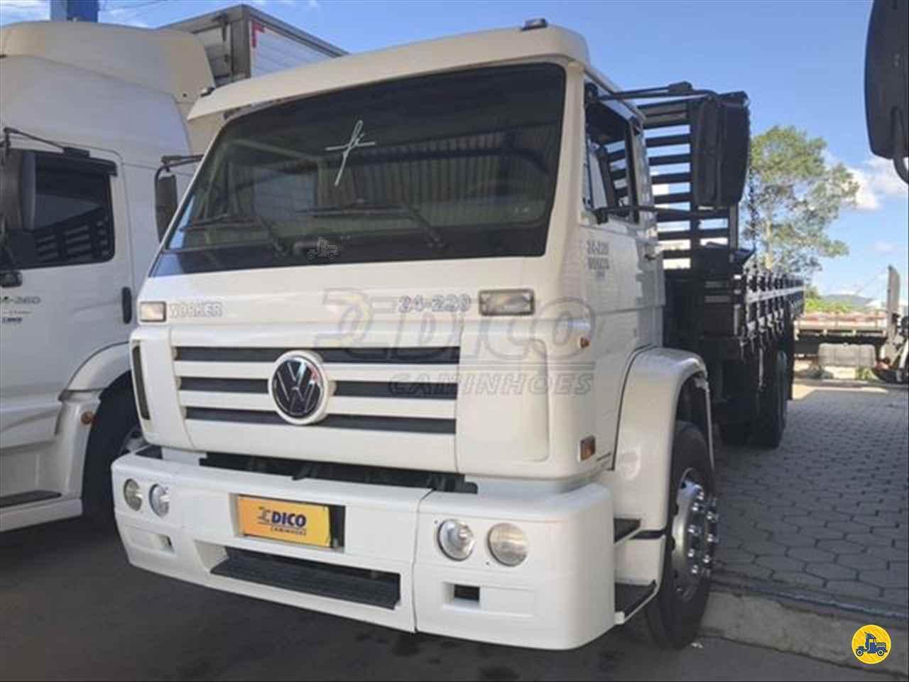 CAMINHAO VOLKSWAGEN VW 24220 Carga Seca Truck 6x2 Dico Caminhões RIO DO SUL SANTA CATARINA SC