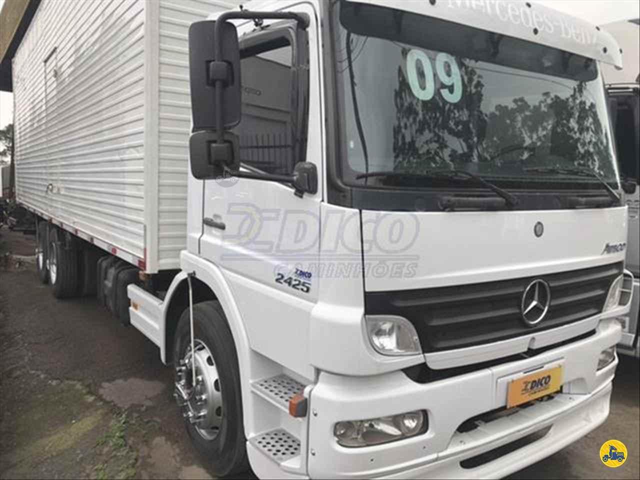 CAMINHAO MERCEDES-BENZ MB 2425 Baú Furgão Truck 6x2 Dico Caminhões RIO DO SUL SANTA CATARINA SC