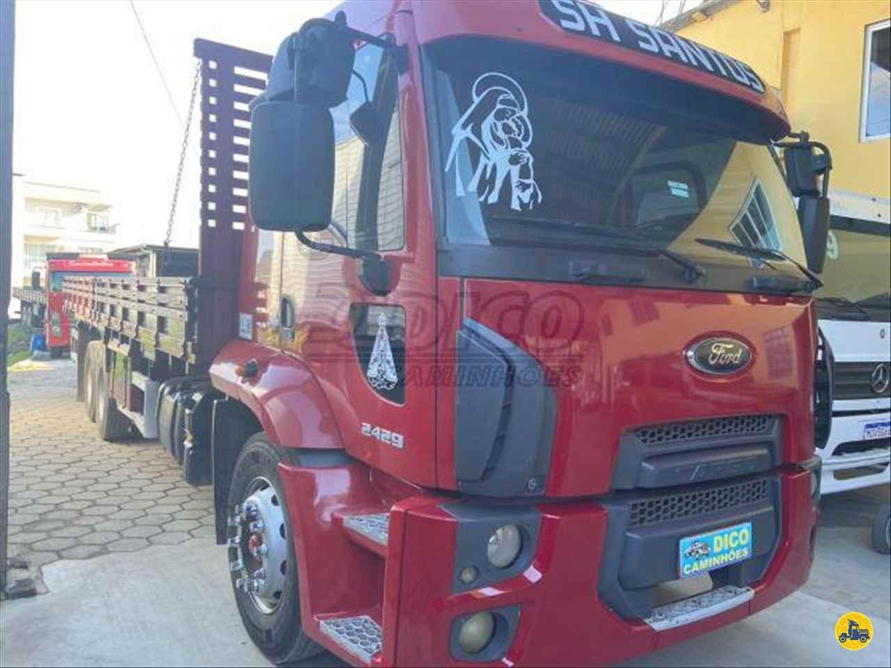 CAMINHAO FORD CARGO 2429 Carga Seca Truck 6x2 Dico Caminhões RIO DO SUL SANTA CATARINA SC