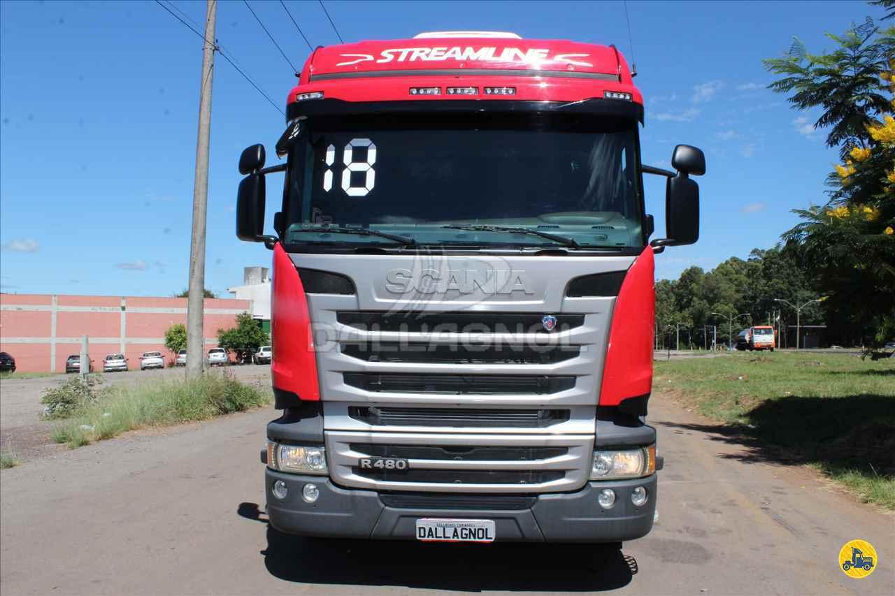 CAMINHAO SCANIA SCANIA 480 Cavalo Mecânico Traçado 6x4 DallAgnol Caminhões RS PASSO FUNDO RIO GRANDE DO SUL RS