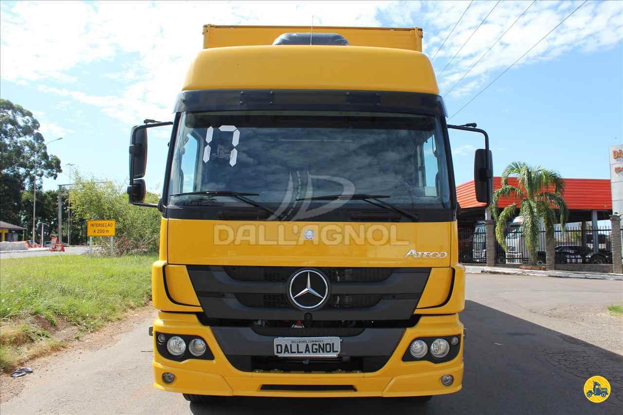 CAMINHAO MERCEDES-BENZ MB 2430 Baú Furgão Truck 6x2 DallAgnol Caminhões RS PASSO FUNDO RIO GRANDE DO SUL RS