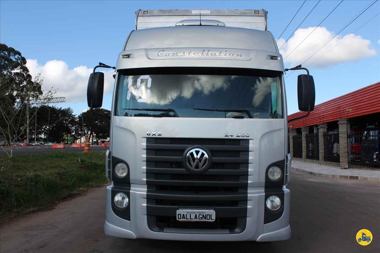 CAMINHAO VOLKSWAGEN VW 24250 Baú Furgão Truck 6x2 DallAgnol Caminhões RS PASSO FUNDO RIO GRANDE DO SUL RS