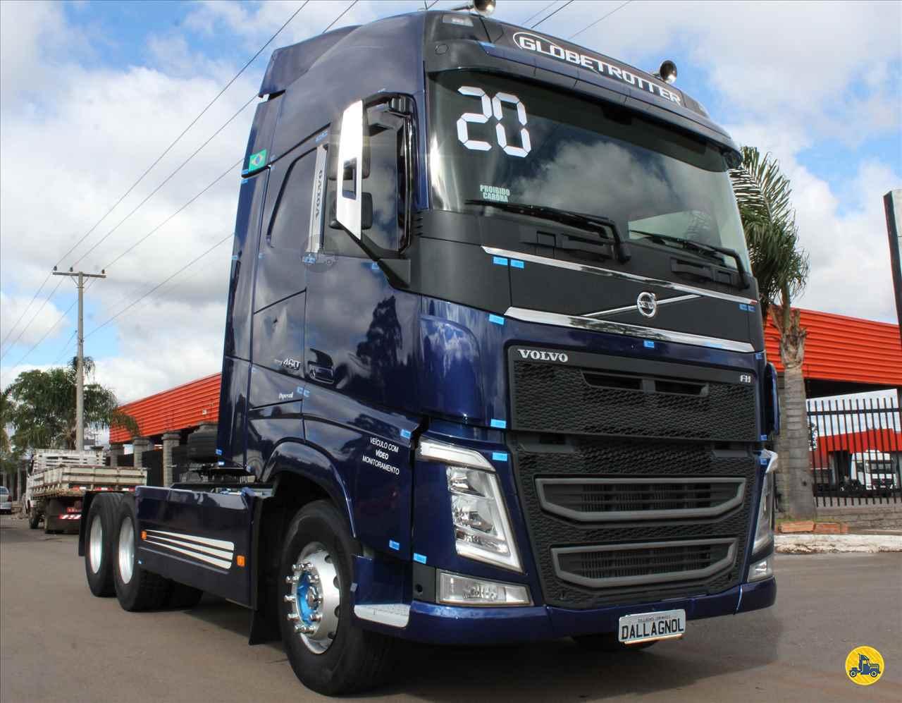 CAMINHAO VOLVO VOLVO FH 460 Cavalo Mecânico Truck 6x2 DallAgnol Caminhões RS PASSO FUNDO RIO GRANDE DO SUL RS
