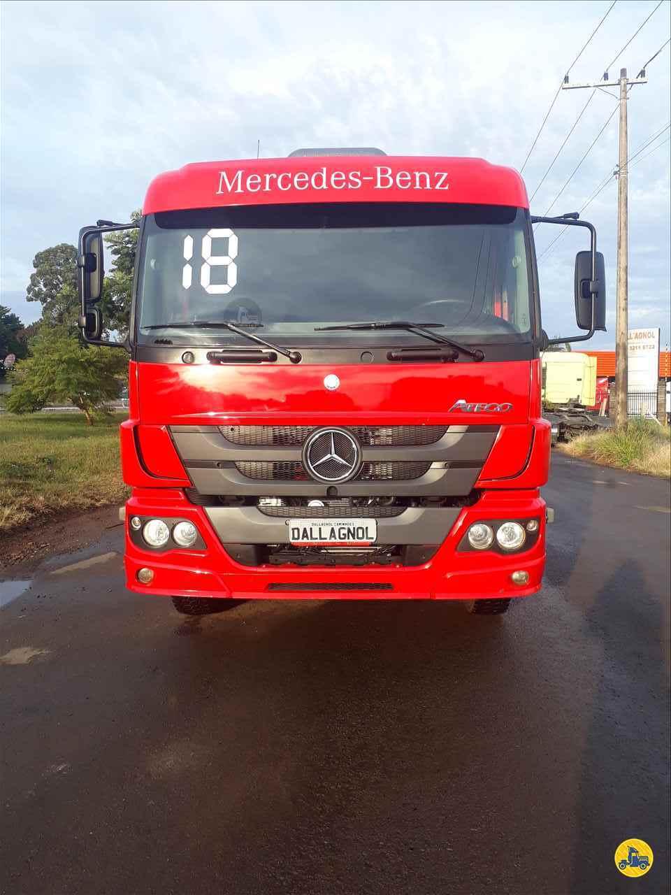 CAMINHAO MERCEDES-BENZ MB 3030 Graneleiro BiTruck 8x2 DallAgnol Caminhões RS PASSO FUNDO RIO GRANDE DO SUL RS