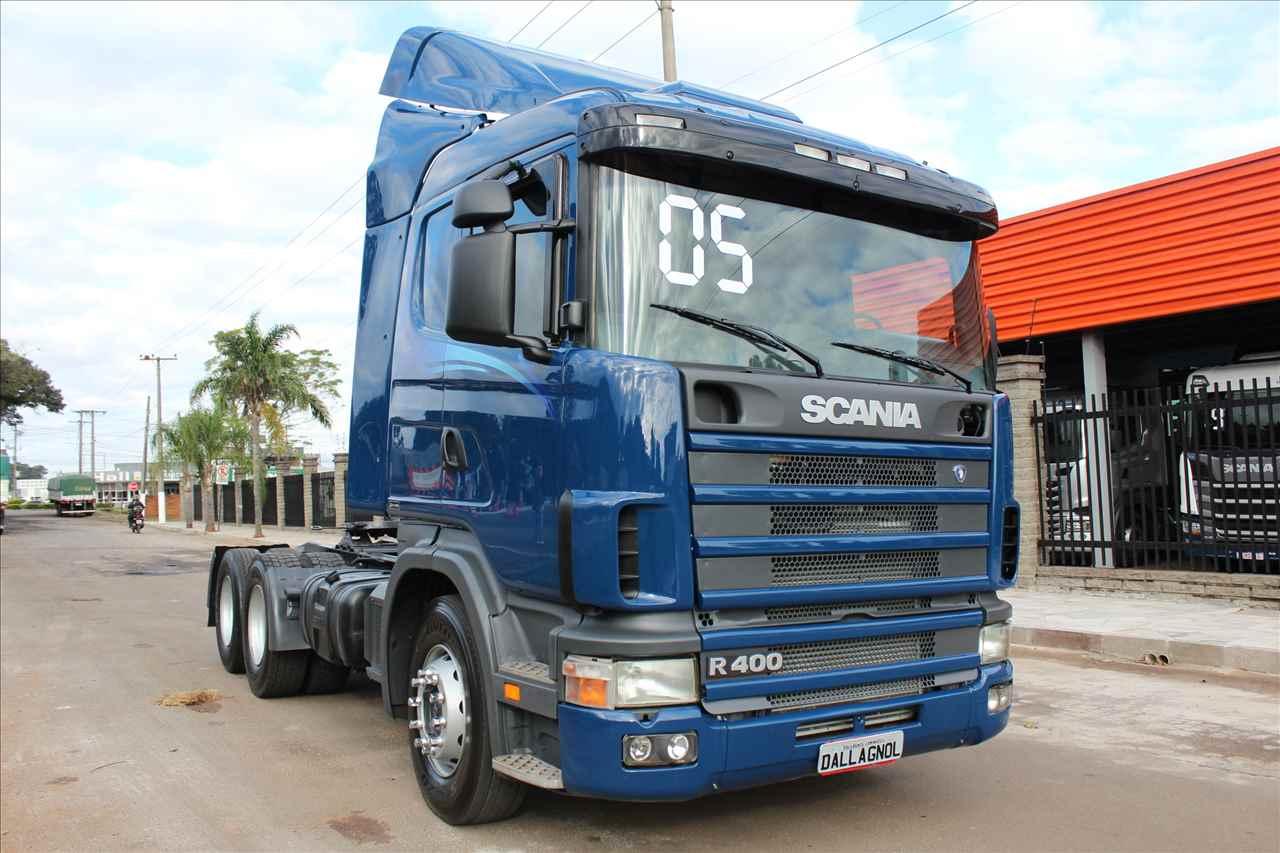 CAMINHAO SCANIA SCANIA 124 400 Cavalo Mecânico Truck 6x2 DallAgnol Caminhões RS PASSO FUNDO RIO GRANDE DO SUL RS