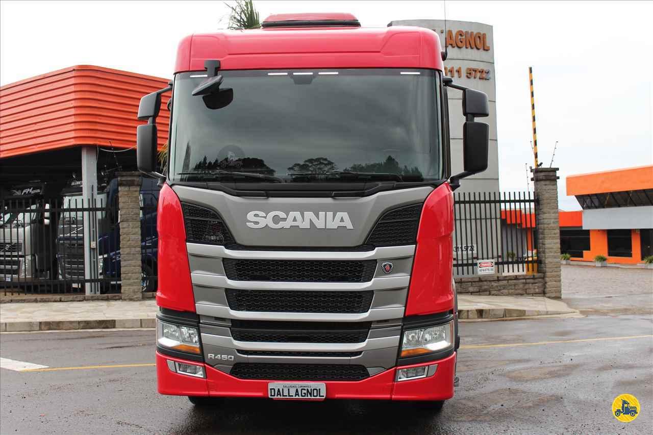 CAMINHAO SCANIA SCANIA 450 Cavalo Mecânico 3/4 6x2 DallAgnol Caminhões RS PASSO FUNDO RIO GRANDE DO SUL RS