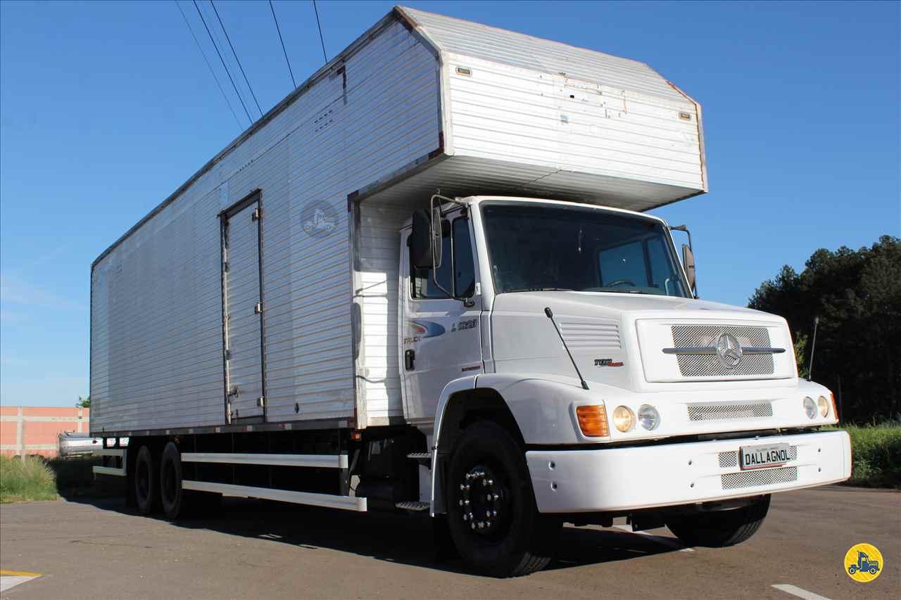 CAMINHAO MERCEDES-BENZ MB 1620 Baú Furgão Truck 6x2 DallAgnol Caminhões RS PASSO FUNDO RIO GRANDE DO SUL RS